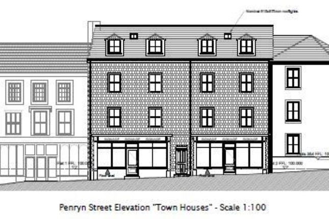 Thumbnail Property for sale in Residential Development Site, 5-6 Penryn Street, Redruth, Cornwall