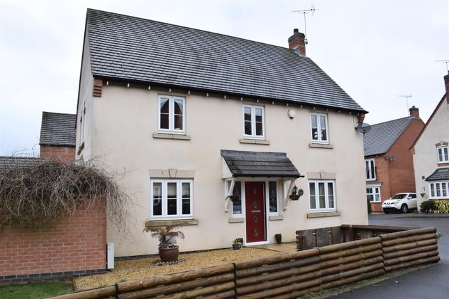 Thumbnail Detached house for sale in Moray Close, Church Gresley, Swadlincote