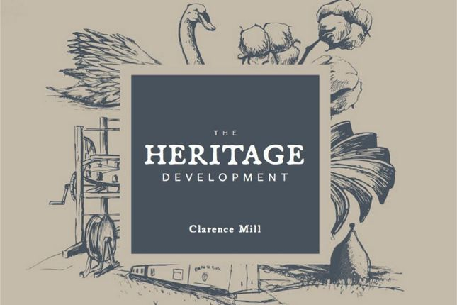 Thumbnail Flat for sale in The Heritage Development, Clarence Mill, Clarence Road, Bollington, Macclesfield, Cheshire