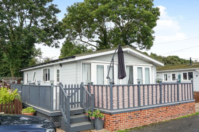 Thumbnail Mobile/park home for sale in Ashby Road Sinope, Coalville