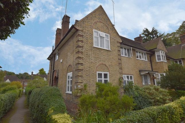 Thumbnail Cottage for sale in Coleridge Walk, Hampstead Garden Suburb, London