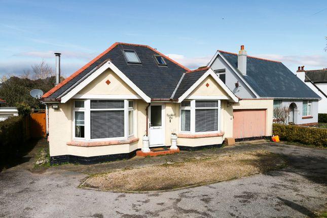 Thumbnail Detached bungalow for sale in Totnes Road, Ipplepen, Newton Abbot