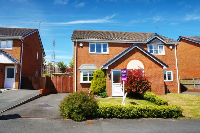 2 bed semi-detached house for sale in Broughton Heights, Wrexham