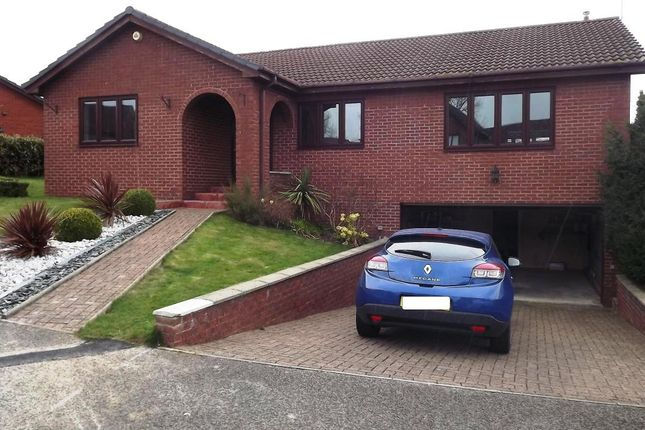 Thumbnail Detached bungalow to rent in Lowther Drive, Woodham, Newton Ayclffe