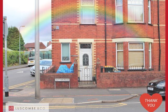 Thumbnail Semi-detached house to rent in Sutton Road, Newport