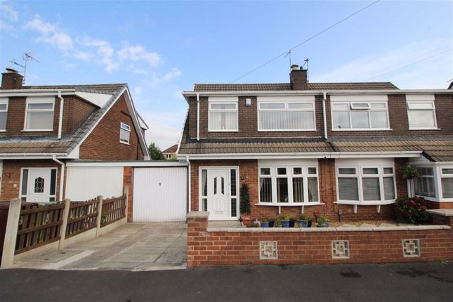 Thumbnail Semi-detached house for sale in Crossdale Road, Hindley Green, Wigan