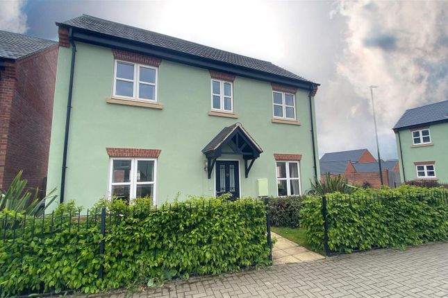 Thumbnail Detached house to rent in Tutbury Avenue, Littleover, Derby