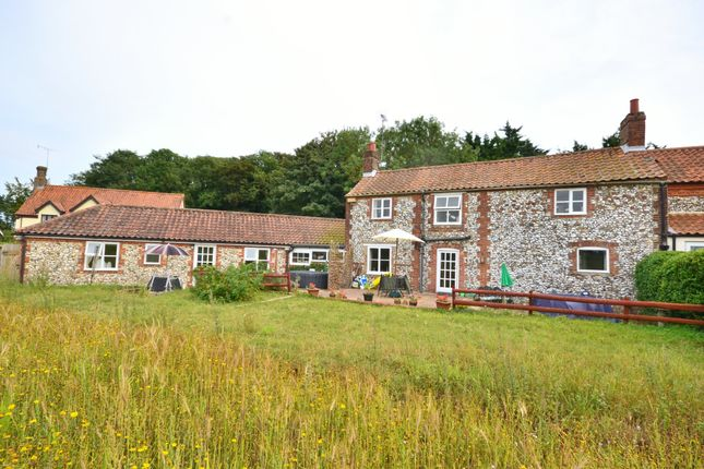 Thumbnail End terrace house for sale in Tittleshall Road, Litcham