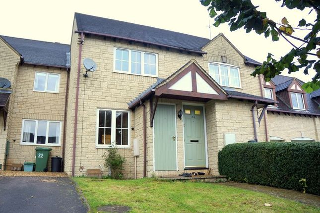 Thumbnail Terraced house to rent in Cuckoo Close, Bussage, Stroud