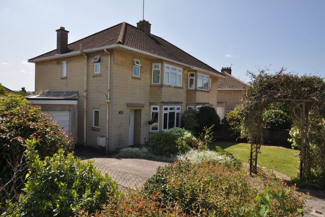 Thumbnail Semi-detached house to rent in West Lea Road, Bath