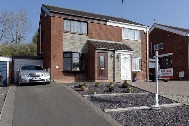 Thumbnail Semi-detached house for sale in Hern Road, Brierley Hill