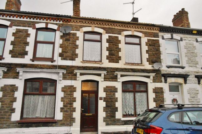 Thumbnail Terraced house for sale in Walker Road, Cardiff