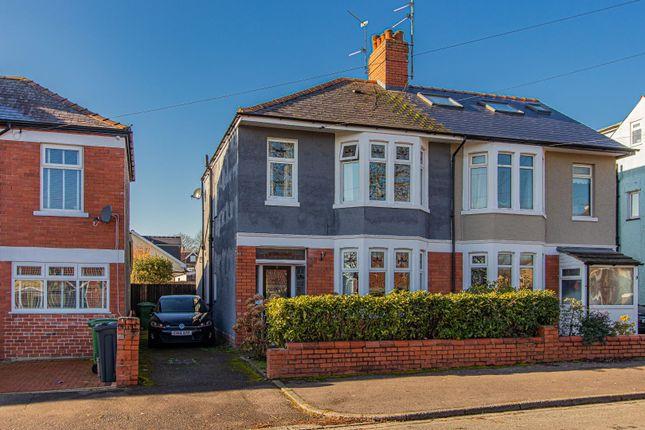 Thumbnail Semi-detached house for sale in Fidlas Avenue, Cardiff