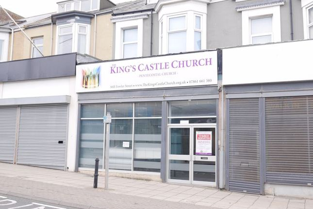 Commercial property to let in Fowler Street, South Shields