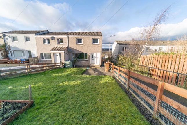 Thumbnail Terraced house for sale in Kaimes Crescent, Kirknewton