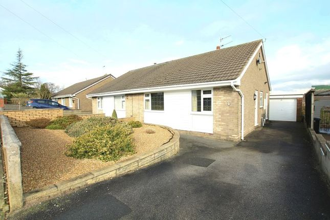 Thumbnail Semi-detached bungalow to rent in Kestral Close, Knypersley, Stoke-On-Trent