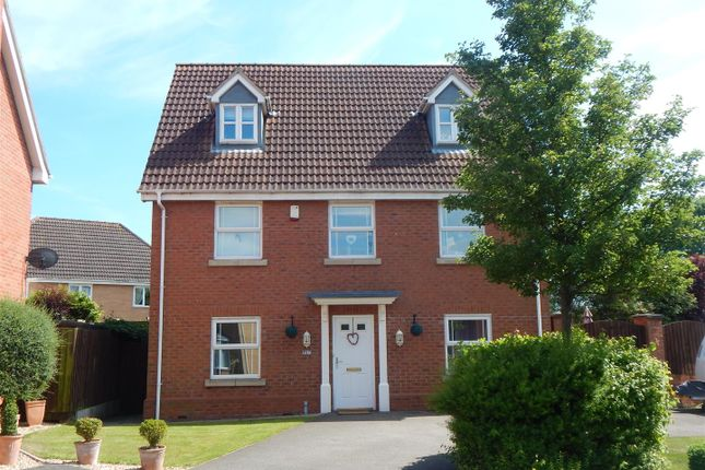 Thumbnail Detached house to rent in Riverview, Long Bennington, Newark