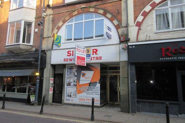 Thumbnail Retail premises to let in 41 Chertsey Road, Woking