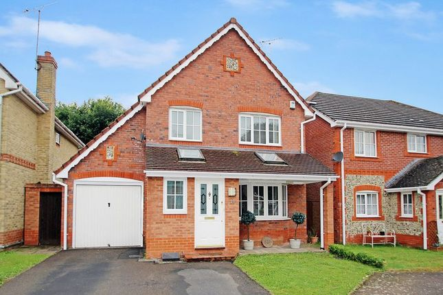 Thumbnail Detached house for sale in Pagewood Close, Maidenbower, Crawley