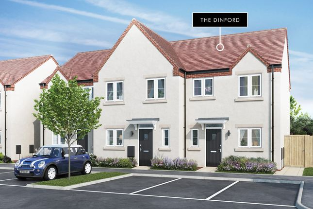 """Thumbnail Terraced house for sale in """"Dinford"""" at Hayley Road, Lancing"""