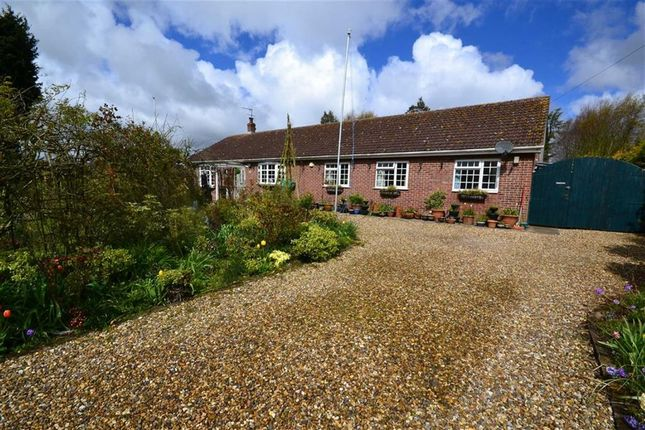 Thumbnail Detached bungalow for sale in Strawberry Gardens, Hornsea, East Yorkshire