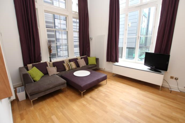 Thumbnail Flat to rent in Simpson Loan, Quartermile