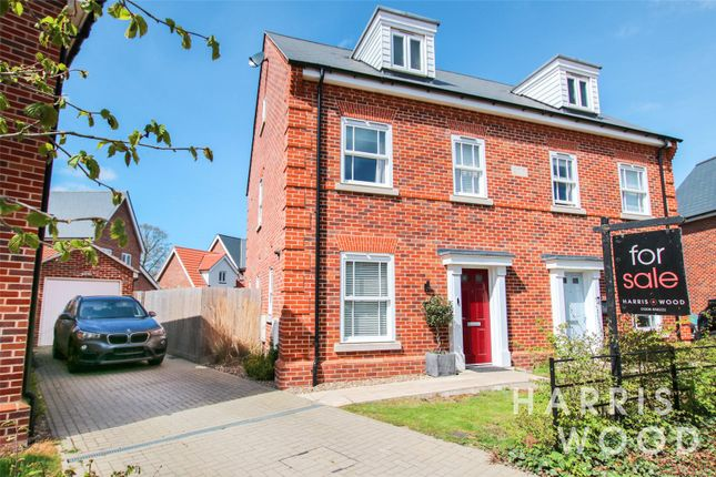 Thumbnail Semi-detached house for sale in Redora Lane, Colchester