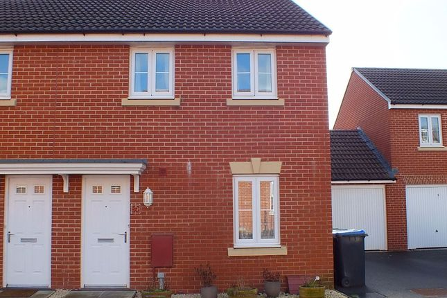 3 bed semi-detached house for sale in Ferris Way, Paxcroft Mead, Trowbridge