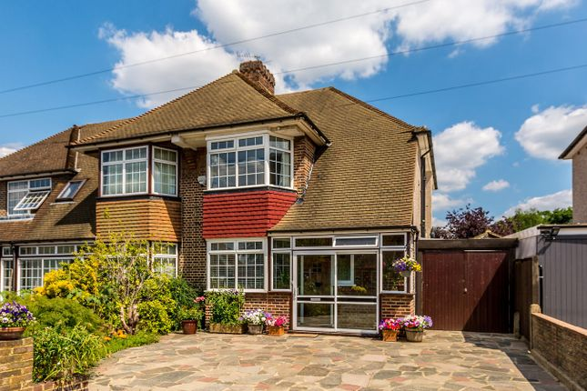 Thumbnail 3 bed semi-detached house for sale in Tideswell Road, Croydon