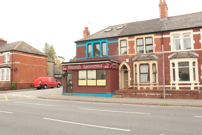 Thumbnail Terraced house for sale in North Road, Gabalfa, Cardiff