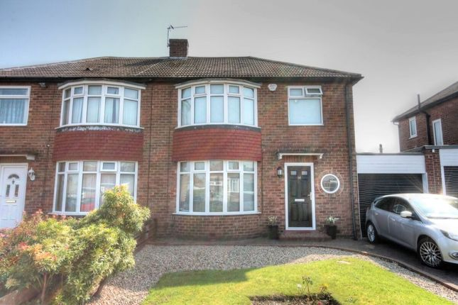 3 bed semi-detached house for sale in Downend Road, Hillheads Estate, Newcastle Upon Tyne NE5