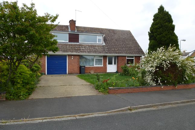 Thumbnail Detached bungalow to rent in St. Denys Avenue, Sleaford