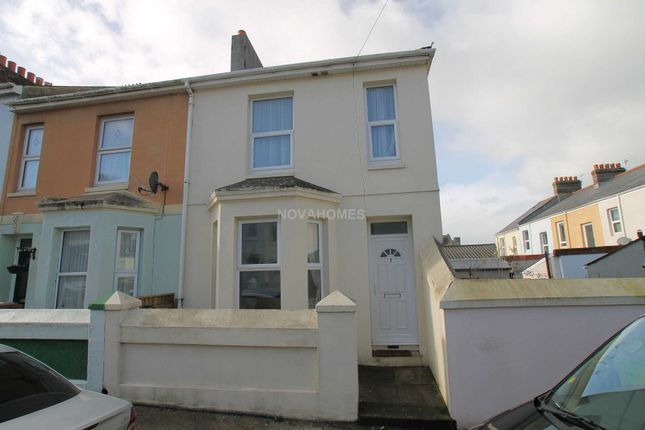 Thumbnail End terrace house for sale in Beech Avenue, Cattedown, Plymouth