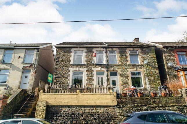 Thumbnail Semi-detached house for sale in Graig Road, Ynyshir, Porth