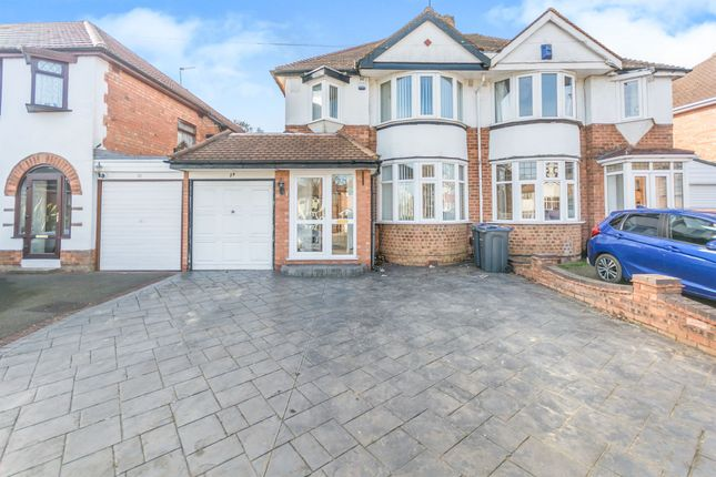 Thumbnail Semi-detached house for sale in Acheson Road, Hall Green, Birmingham