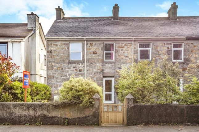 Thumbnail End terrace house for sale in Tolvaddon, Camborne, Cornwall