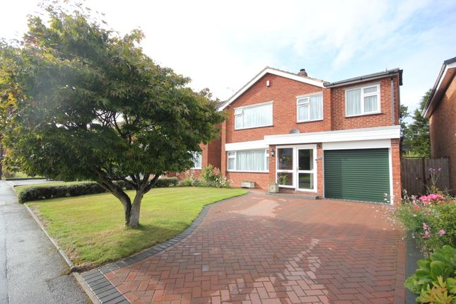 Thumbnail Detached house for sale in Fowgay Drive, Solihull