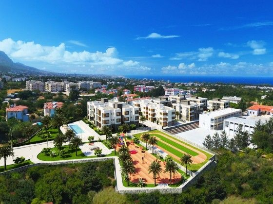 3 bed apartment for sale in Alsancak, Kyrenia, Cyprus