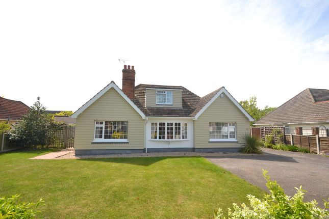 Thumbnail Bungalow for sale in Seaview Avenue, West Mersea, Colchester