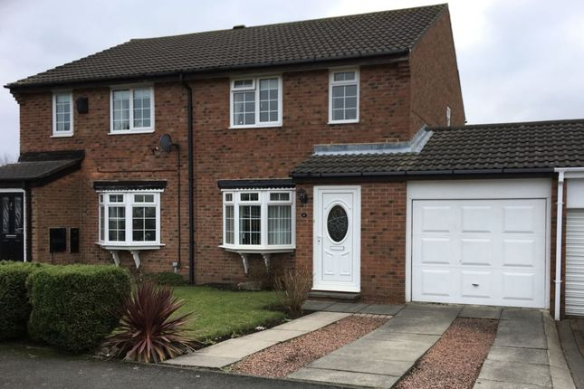 Thumbnail Semi-detached house for sale in Cheviot Grange, Burradon, Cramlington