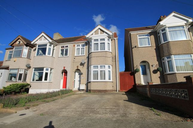 Thumbnail Terraced house to rent in Hillfoot Road, Romford