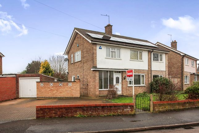 Thumbnail Detached house for sale in Tiverton Road, Peterborough