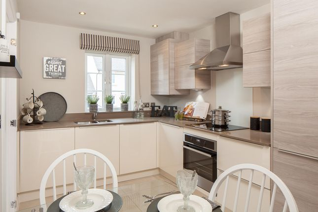"""Thumbnail Semi-detached house for sale in """"Barwick"""" at Windsor Avenue, Newton Abbot"""