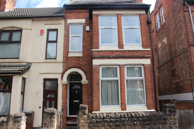 Thumbnail End terrace house to rent in Derby Grove, Lenton