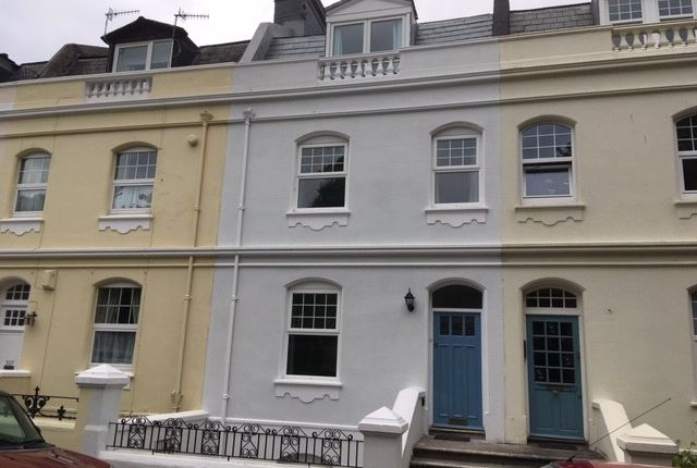 Thumbnail Terraced house to rent in Citadel Road East, Plymouth