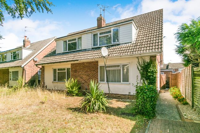 Thumbnail Semi-detached house to rent in Fairwater Drive, Woodley, Reading
