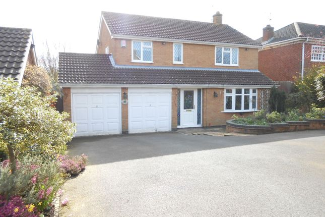 Thumbnail Detached house to rent in Weir Road, Kibworth Beauchamp, Leicestershire