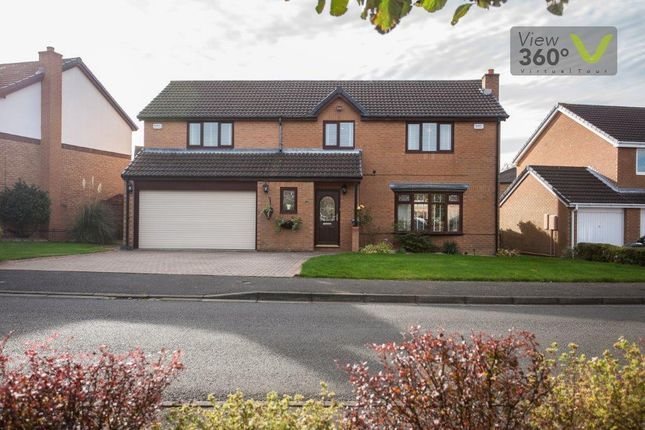 Thumbnail Detached house for sale in Bellerby Drive, Ouston, Chester Le Street