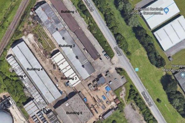 Thumbnail Light industrial to let in (Former Caparo Steel), Brenda Road, Hartlepool