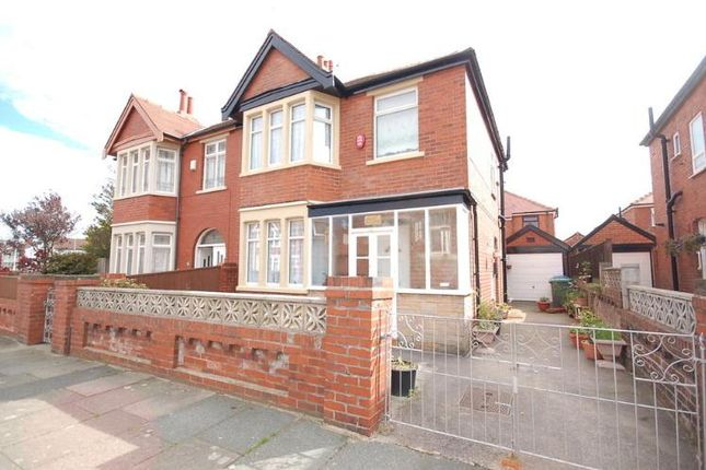 Thumbnail Semi-detached house to rent in Gildabrook Road, South Shore, Blackpool